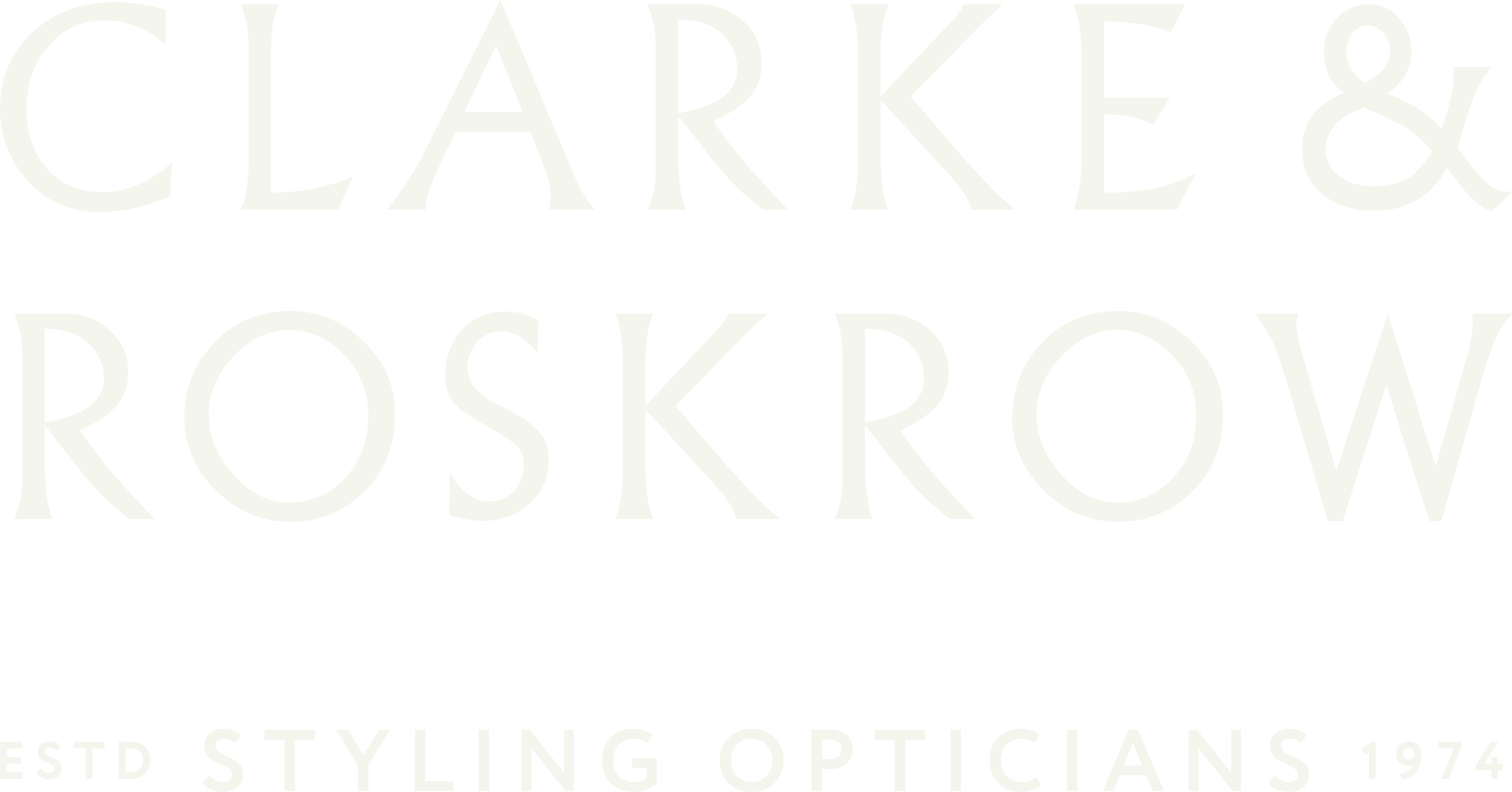 Clarke and Roskrow Styling Opticians